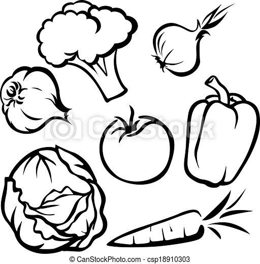 vegetal, ilustração - csp18910303