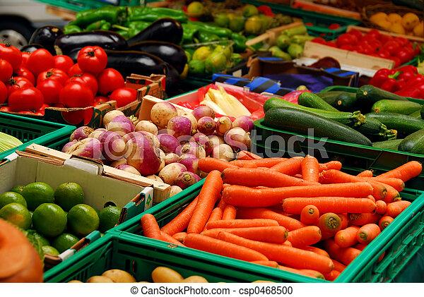 Vegetales - csp0468500
