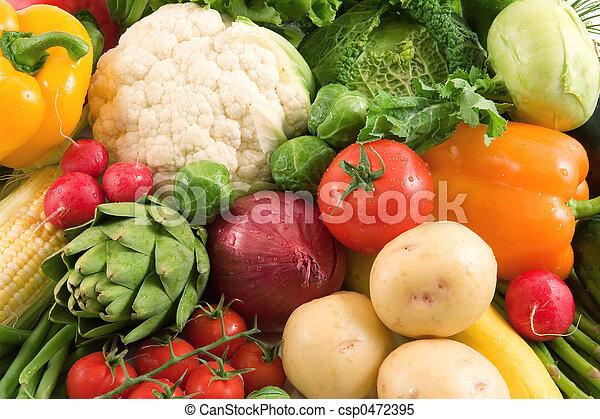 Verduras - csp0472395