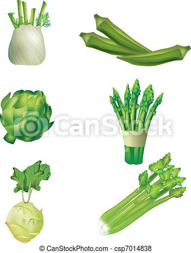 Un juego de vegetales - csp7014838