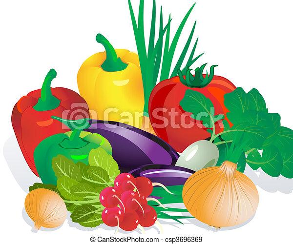 Vegetales - csp3696369