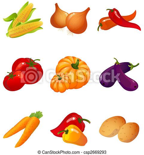 Verduras - csp2669293
