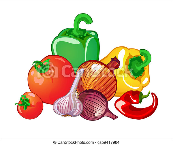 Vegetales - csp9417984