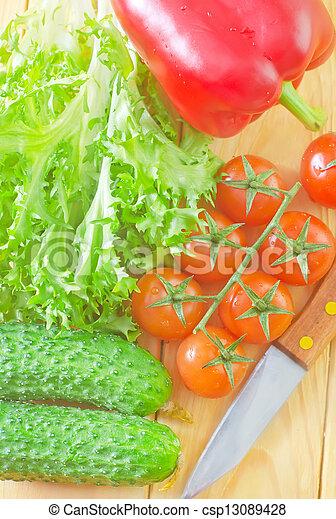 Vegetales - csp13089428