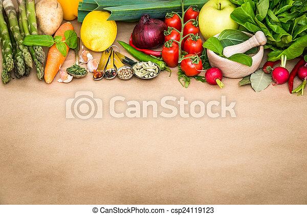 Verduras - csp24119123