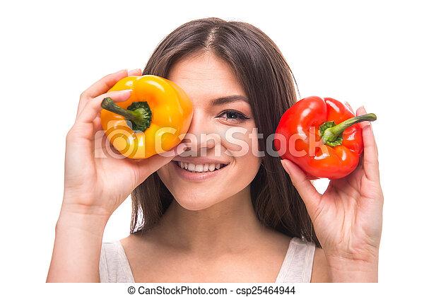 Verduras - csp25464944