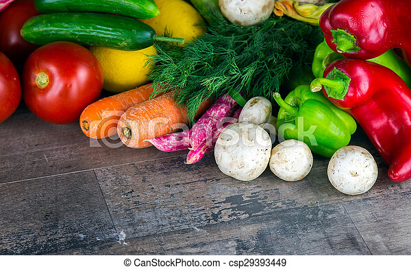 Verduras - csp29393449