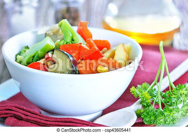 vegetales - csp43605441