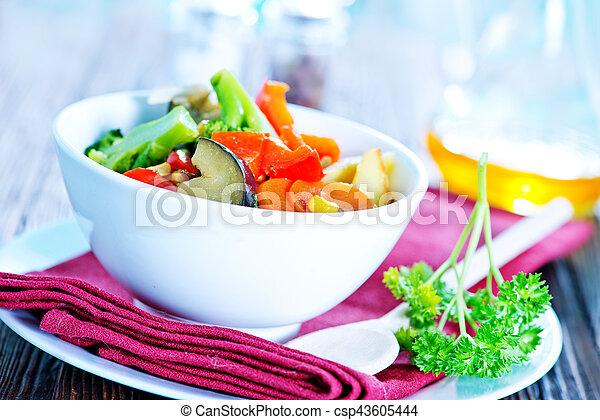 vegetales - csp43605444