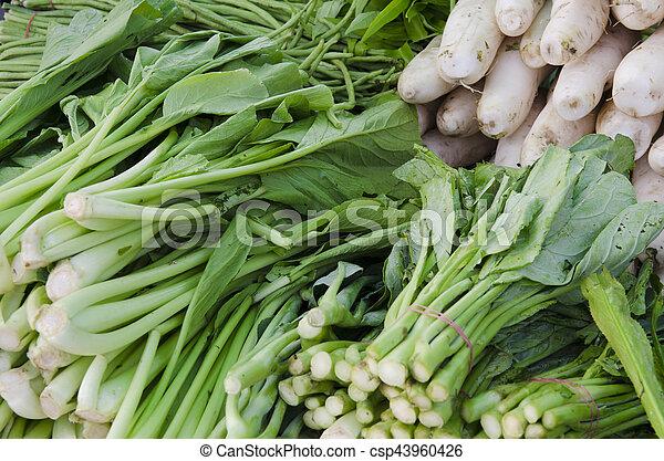 Verduras - csp43960426