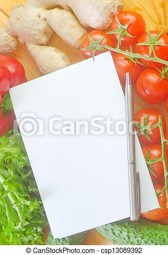Verduras - csp13089392