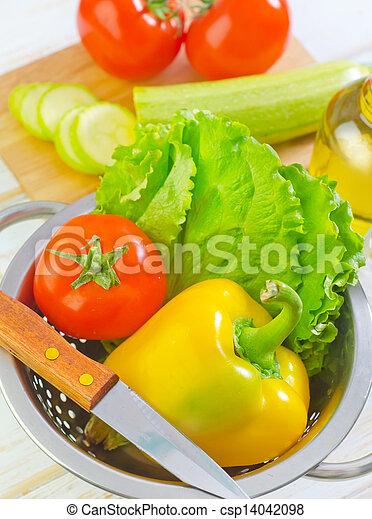 Vegetales - csp14042098