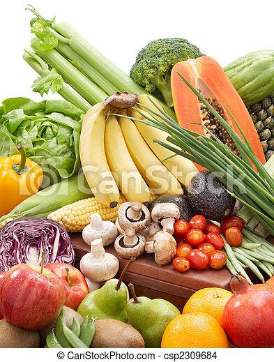 Verduras y frutas - csp2309684