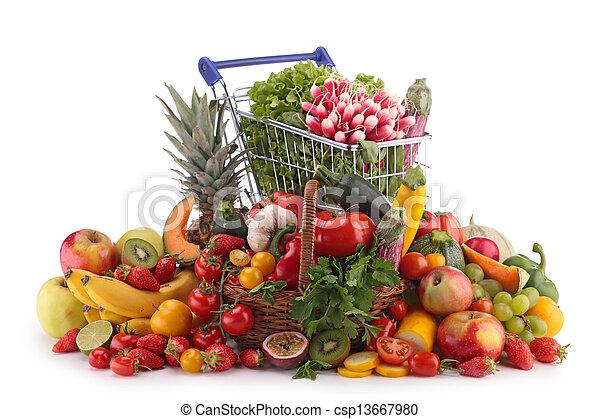 Frutas y verduras - csp13667980