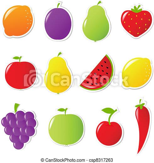 Frutas y verduras - csp8317263