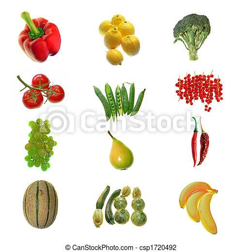 Fruta y verduras - csp1720492
