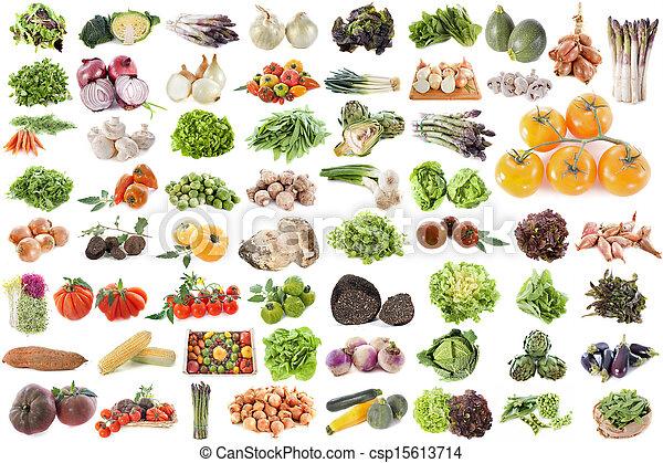 Grupo de verduras - csp15613714