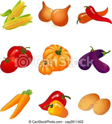 Verduras - csp2611402