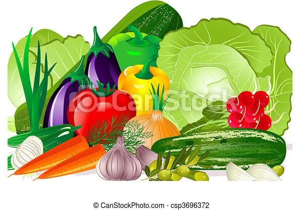 vegetales - csp3696372
