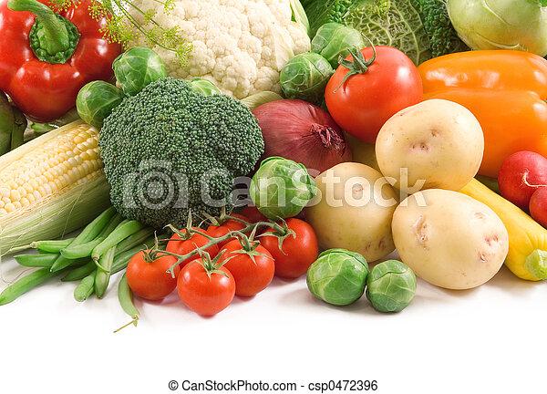 vegetales - csp0472396