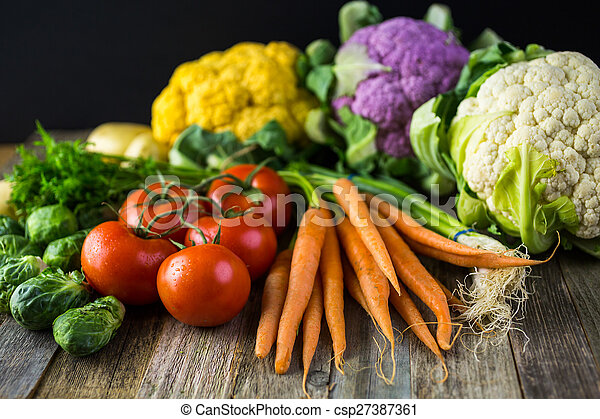Verduras - csp27387361