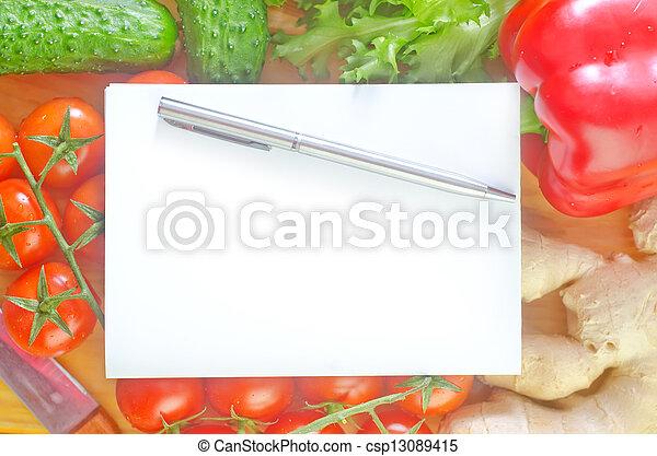 Vegetales - csp13089415