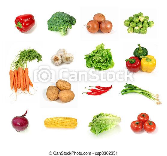 Vegetales - csp3302351