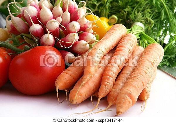 Selección de verduras - csp10417144