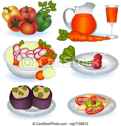 Vegetarian food 1 - csp7156912