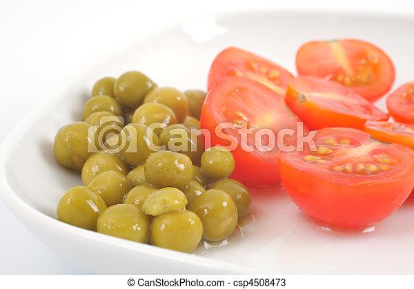 Vegetarian food - csp4508473