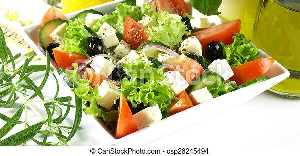 Vegetarian lunch - csp28245494