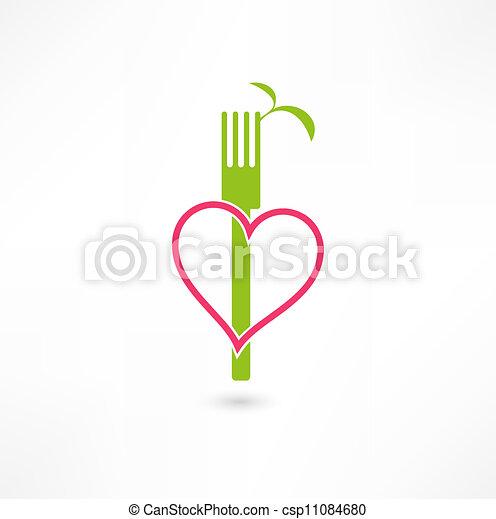 vegetarian sign - csp11084680