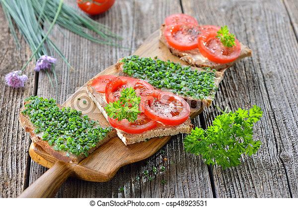 Vegetarian snack - csp48923531