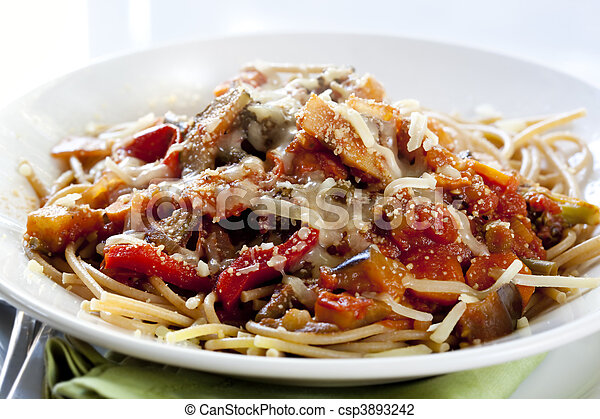 Vegetarian Spaghetti - csp3893242