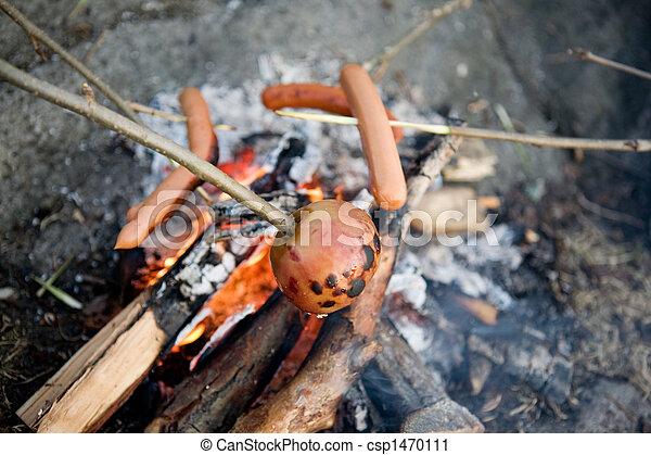 Vegetarian Wiener Roast - csp1470111