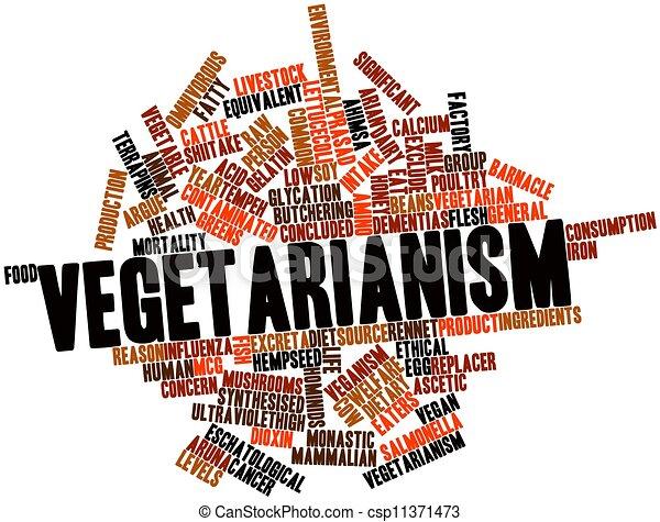 Vegetarianism - csp11371473