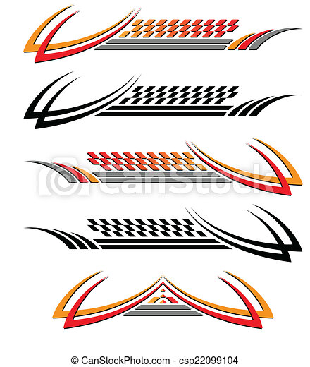Vehicle Graphics, Stripe : Vinyl Ready - csp22099104