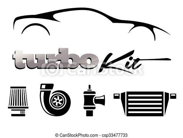 Vehicle performance mods turbo Kit