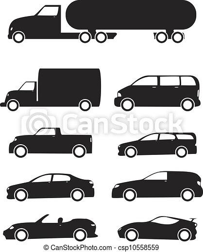 Vehicles Icon Set - csp10558559