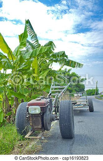 Vehicles used in agriculture. - csp16193823