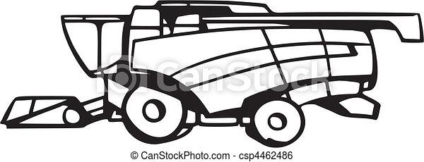 veicoli, agricoltura - csp4462486