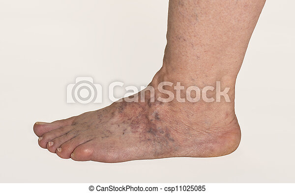 les veines du pied