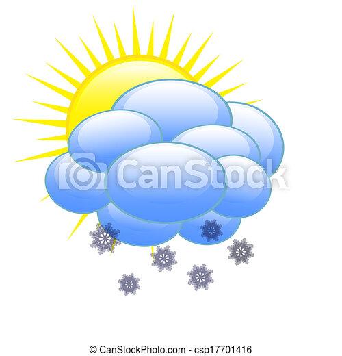 vejr, ikon - csp17701416