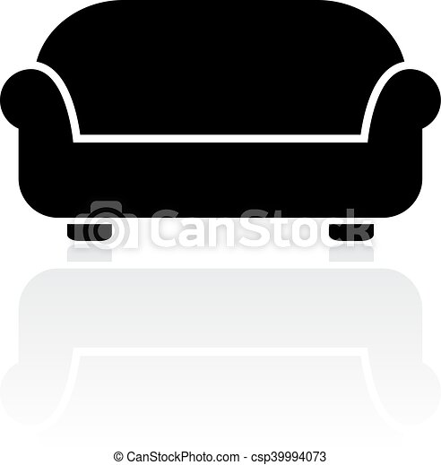 Divan-Vektor-Icon - csp39994073