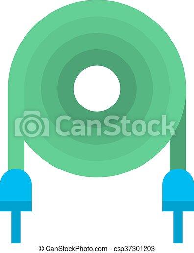 Vektor, elektrisch, illustration., kabel. Tool., cable.,... Vektor ...