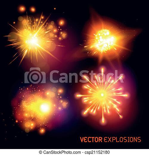Vector Explosionen - csp21152180