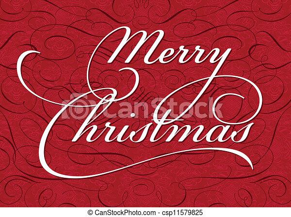 vektor, jul, bakgrund, utsirad - csp11579825