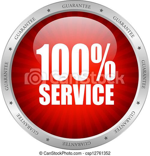 Vector Service Icon - csp12761352