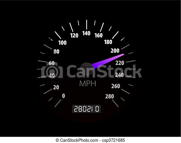 Slapometer vektorgrafik - csp3721685