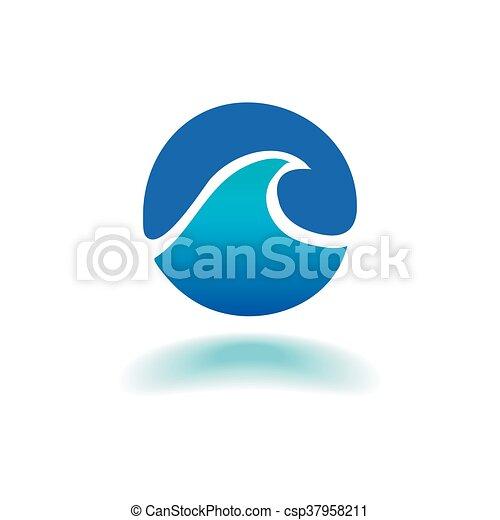 vektor, tenger, lenget - csp37958211
